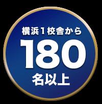 横浜1校舎から180名以上